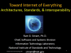 Toward Internet of Everything: Architectures, Standards, & Interoperability