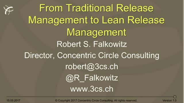 From traditional to lean release management