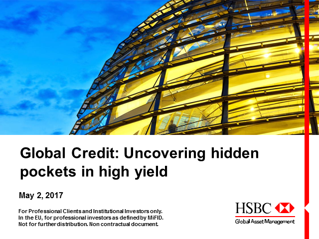 Global Credit: A Hidden Pocket in High Yield