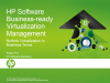 Using Automation to Manage Virtualization