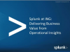Delivering Business Value from Operational Insights at ING Bank