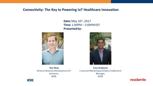 Connectivity: The Key to Powering IoT Healthcare Innovation
