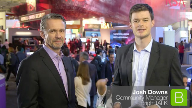 BrightTALK at RSA 2017: Bill Diotte on Securing IoT Networks