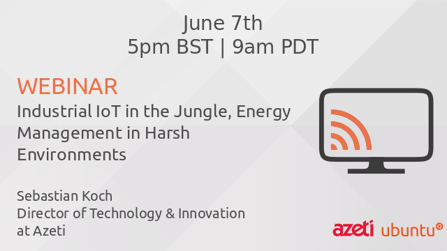 Industrial IoT in the Jungle, Energy Management in Harsh Environments
