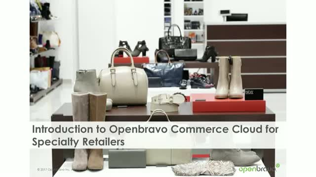Introduction to the Openbravo Commerce Cloud for Specialty Retailers
