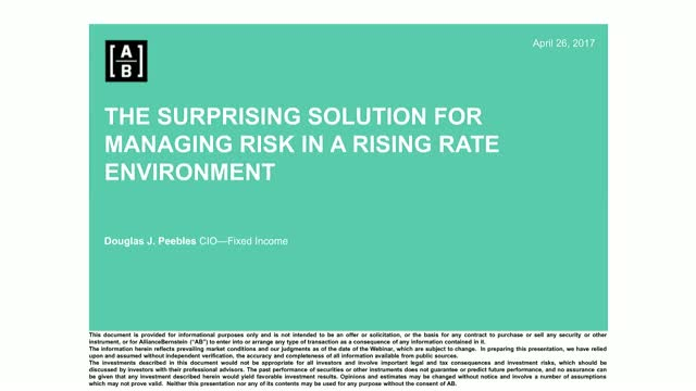 Rising rates – identifying and capturing new opportunities in fixed income