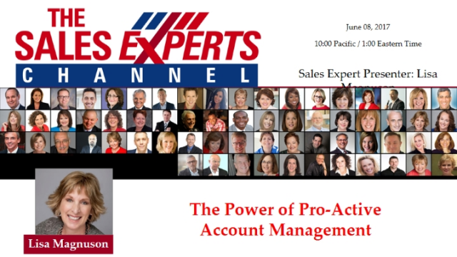 The Power of Pro-Active Account Management