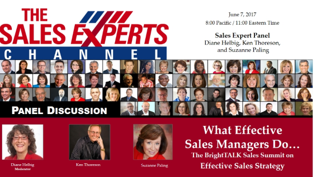 What Effective Sales Managers Do . . .