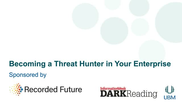 Becoming a Threat Hunter in Your Enterprise