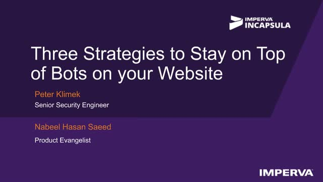 Three Strategies to Stay on Top of Bots on Your Website