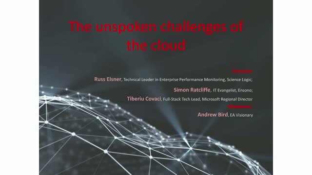 The unspoken challenges of the cloud