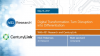 Turn Disruption into Differentiation with your Digital Transformation Strategy