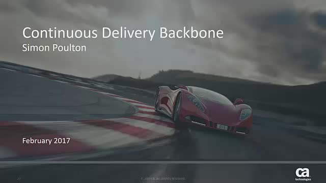 Continuous Delivery Backbone