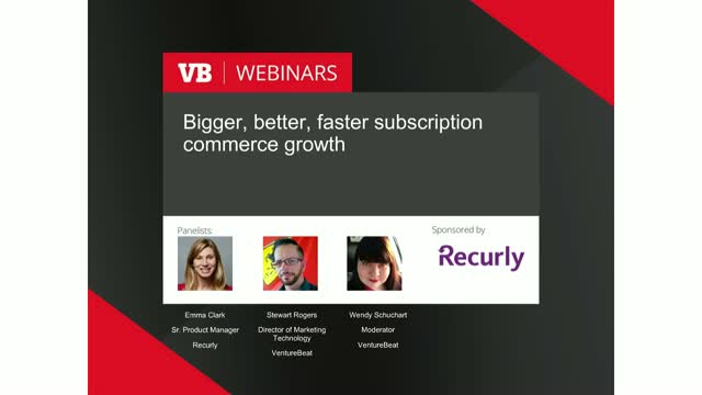 Bigger, better, faster subscription commerce growth