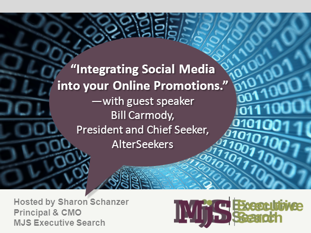Integrating Social Media into your Online Promotions