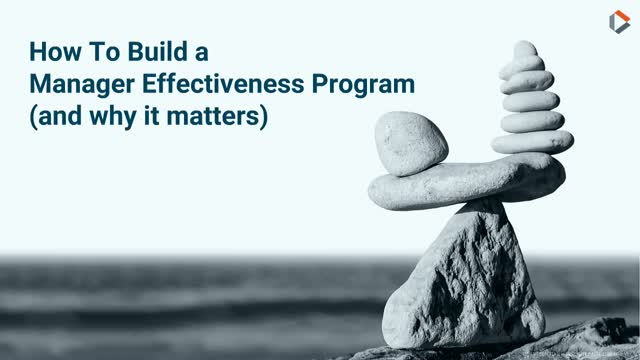 How to Establish a Sales Manager Effectiveness Program