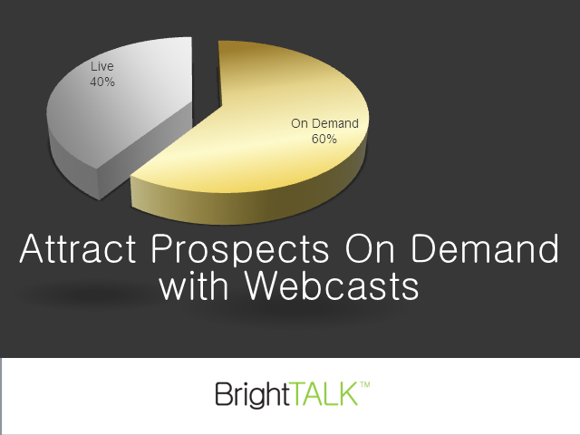 Attract Prospects On Demand with Webcasts