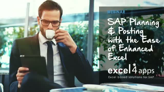 SAP Planning & Posting with the Ease of Excel
