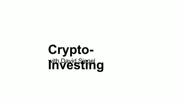 Crypto-Investing with David Siegel