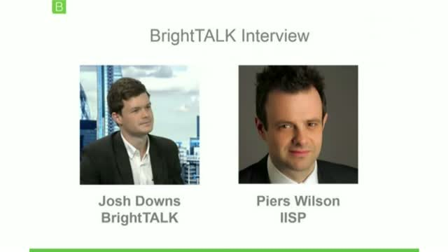 [Video Interview] Piers Wilson and the IISP Industry Survey