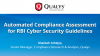 Automated Compliance Assessment for RBI Cyber Security Guidelines