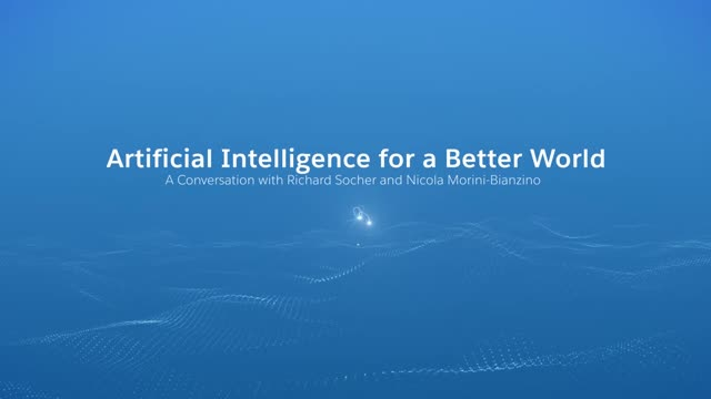 Artificial Intelligence for a Better World