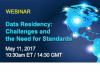 Data Residency: Challenges and the Need for Standards