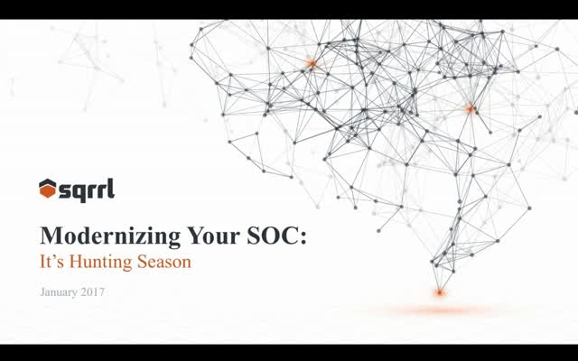 Modernizing Your SOC: A CISO-led Training