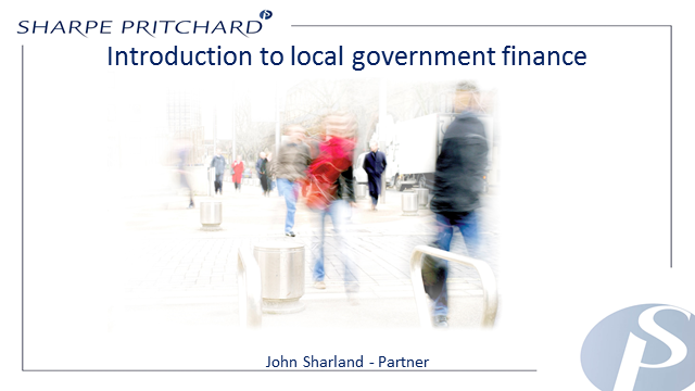 Introduction to Local Government Finance
