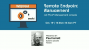 Remote Endpoint Management and PCoIP Management Console
