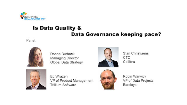 Is Data Quality & Data Governance Keeping Pace?