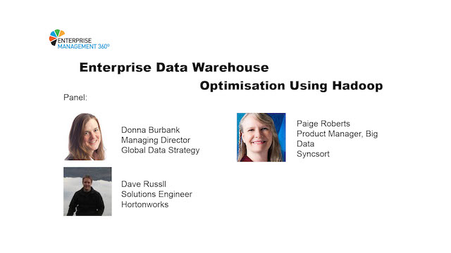 Enterprise Data Warehouse Optimisation using Hadoop
