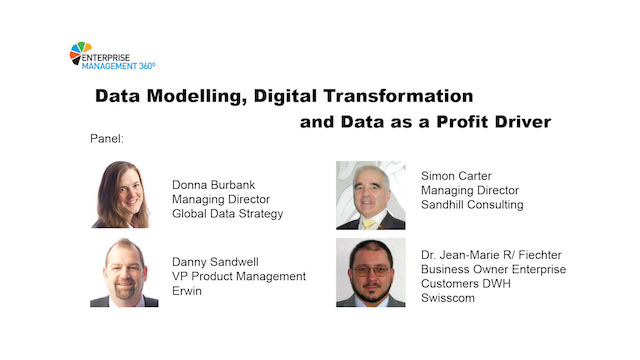 Data Modelling, Digital Transformation and Data as a Profit Driver