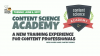 Meet Content Science Academy: A New Content Training Experience