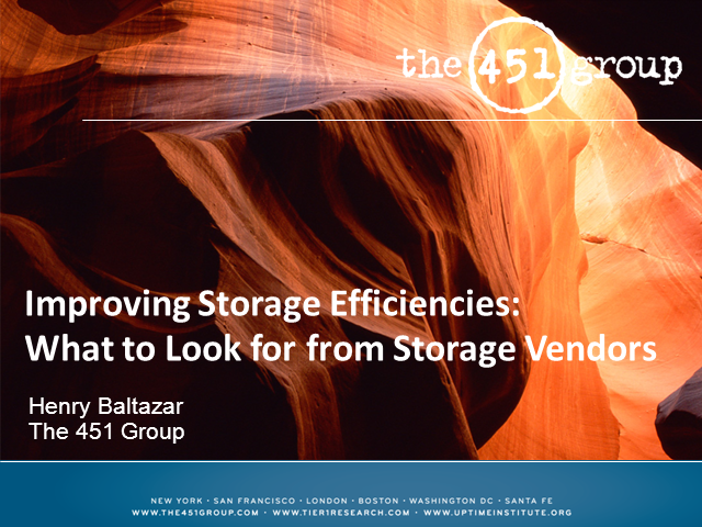 Improving Storage Efficiency: What to Look for in Storage Vendors