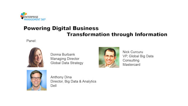 Powering Digital Business Transformation through Information