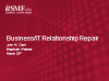 A 12 Step Program for Business/IT Relationship Repair