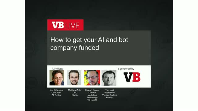 How to get your AI and Bot company funded