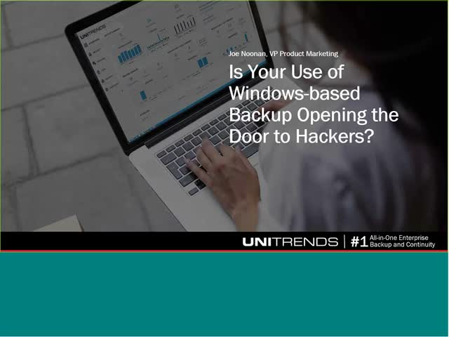 Could Your Use of Windows Backup be Opening the Door to Hackers?