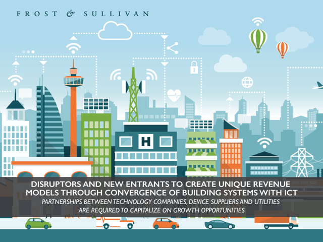 New Entrants to Create Revenue Models through Convergence of Building Systems