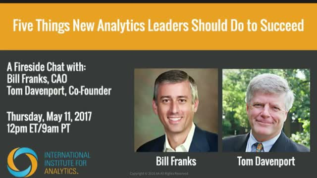5 Things New Analytics Leaders Should Do To Succeed