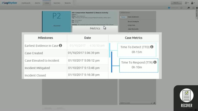 Demo: Detect and Respond to Cyber Threats with Threat Lifecycle Management