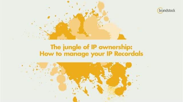 The jungle of IP ownership: How to manage your IP Recordals