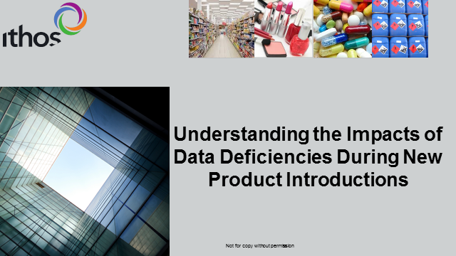 Understanding the Impacts of Data Deficiencies During New Product Introductions