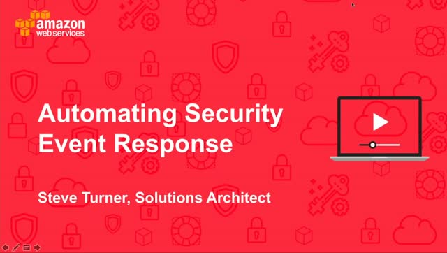 Automating Security Event Reponses