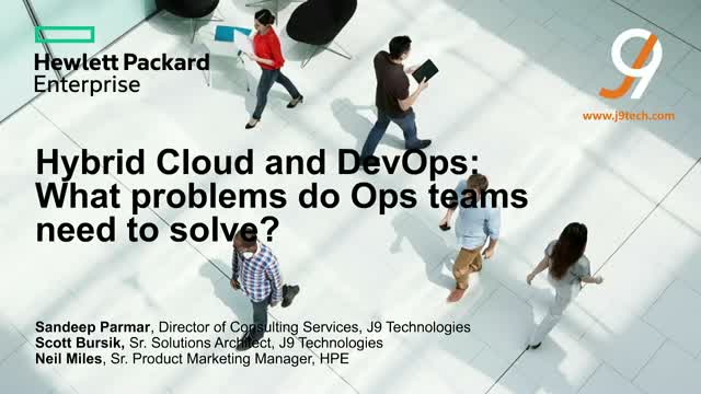 Hybrid cloud and DevOps: What problems do Ops teams need to solve?
