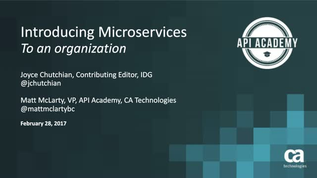 Introducing Microservices to Your Organization