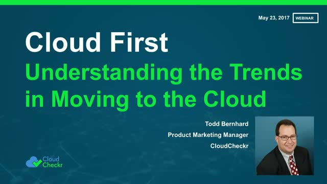 Cloud First: A New Competitive Advantage for Modern Enterprises