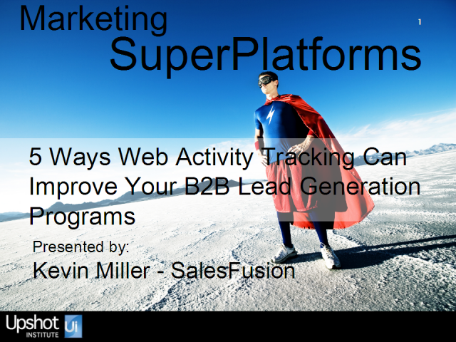 5 Ways web activity tracking can improve your B2B lead generation