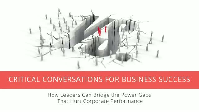 Critical Conversations for Business Success